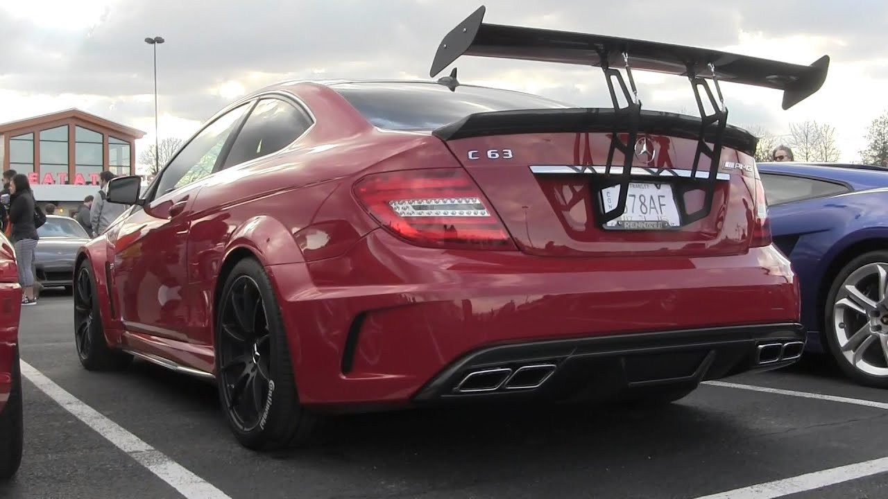Mercedes C63 AMG Black Series Walkaround Hunt Valley Cars and