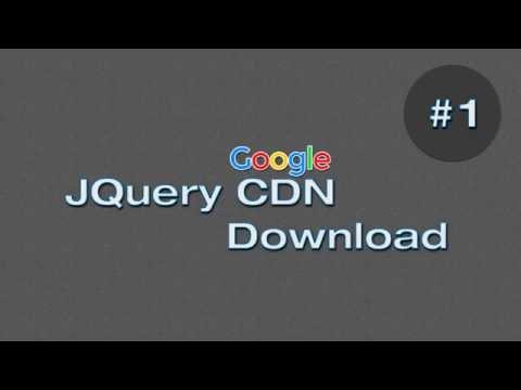 Google Jquery CDN (Descargar o enlazar JQuery en tus proyectos)