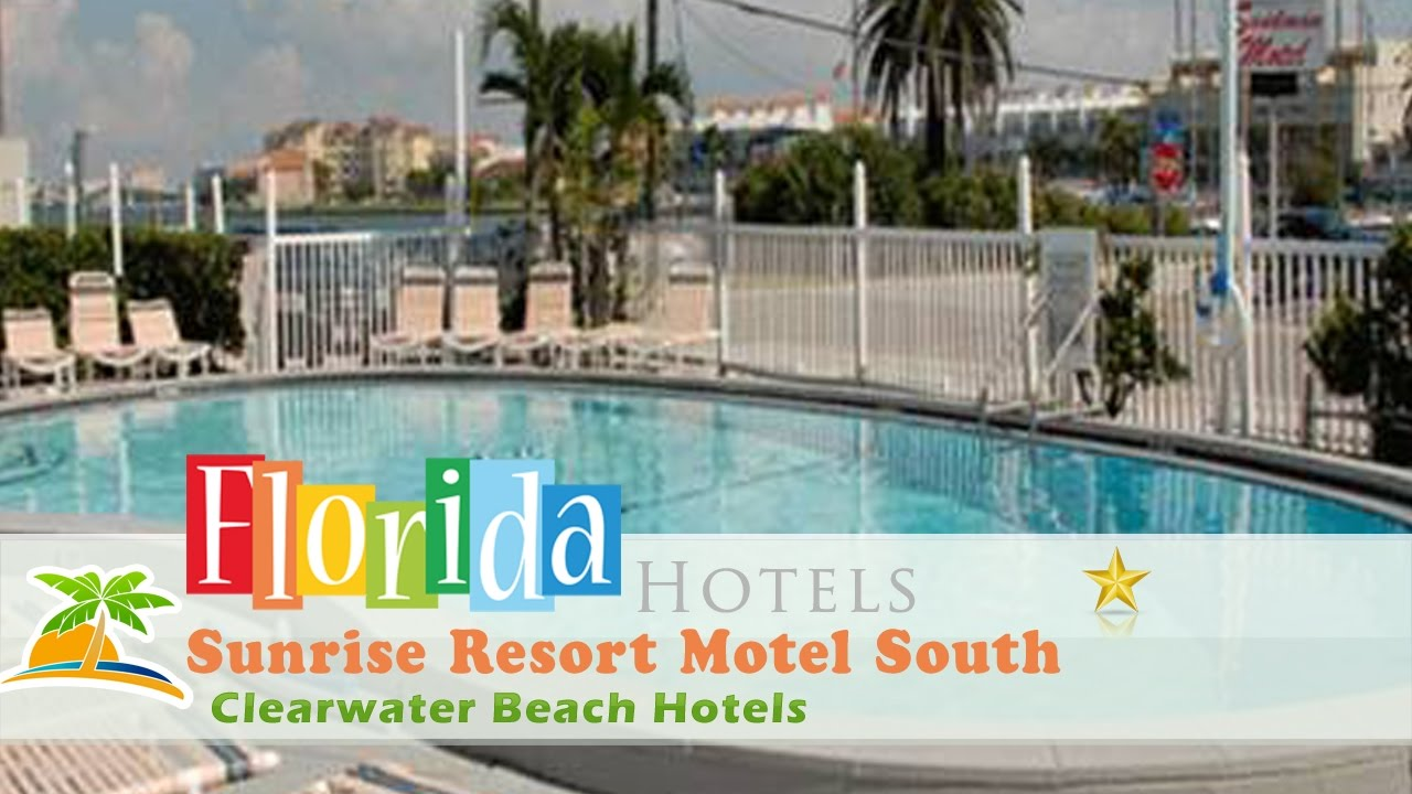Sunrise Resort Motel South Clearwater Beach Hotels Florida
