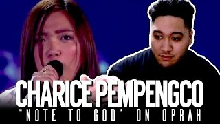 Charice - Note To God (Live on Oprah) REACTION!!! Mp3