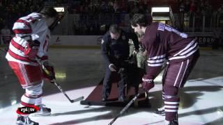 rpi men s hockey vs colgate university