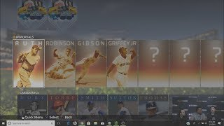 Diamond Dynasty New Features NEW CARDS! NEW LEGENDS! MLB THE SHOW 18