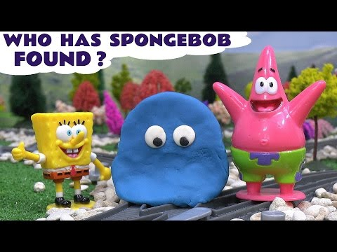 Spongebob Play Doh Thomas The Tank Engine Guessing Game Thomas Y Sus Amigos Play-Doh Tomac