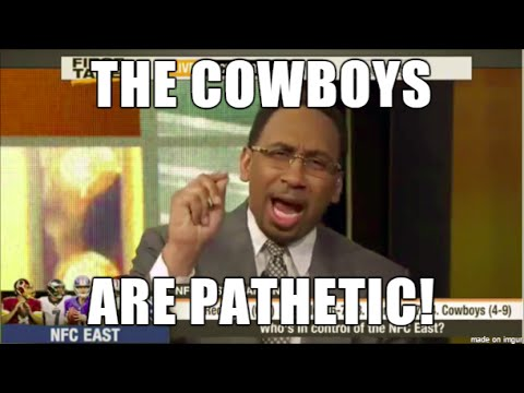 Best of Stephen A: EPIC Dallas Cowboys Rants. Skip Bayless prays for a Super Bowl run (Pt 5)