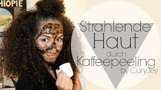 DIY Kaffeepeeling und Maske für Strahlende Haut     by CurlyJey