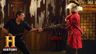 Forged in Fire: Revolutionary War Spontoon Final Round: Zane vs Chris (Season 7) | History