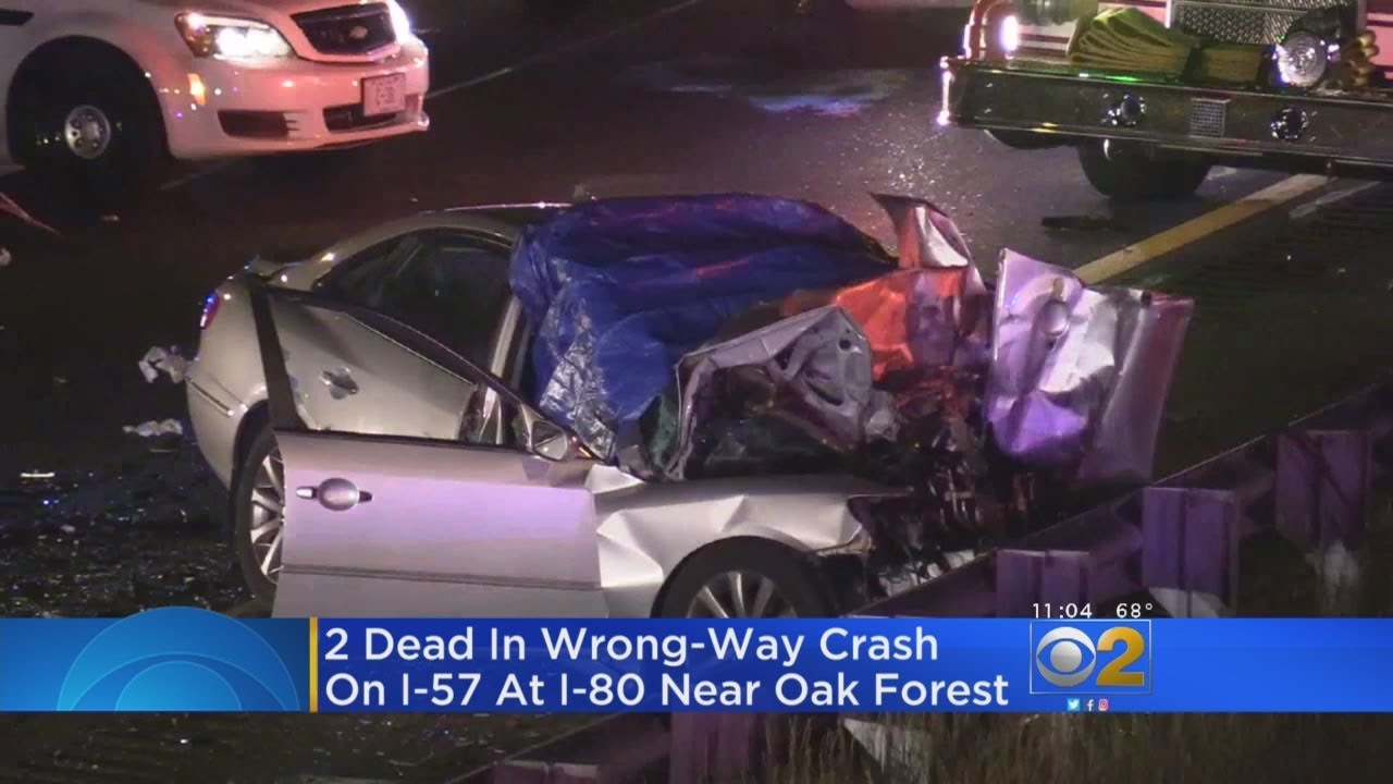 Firefighter, Second Man Killed In Wrong-Way Crash On I-57
