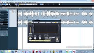 Чистка аудио от шумов с помощью VST - acon digital denoise