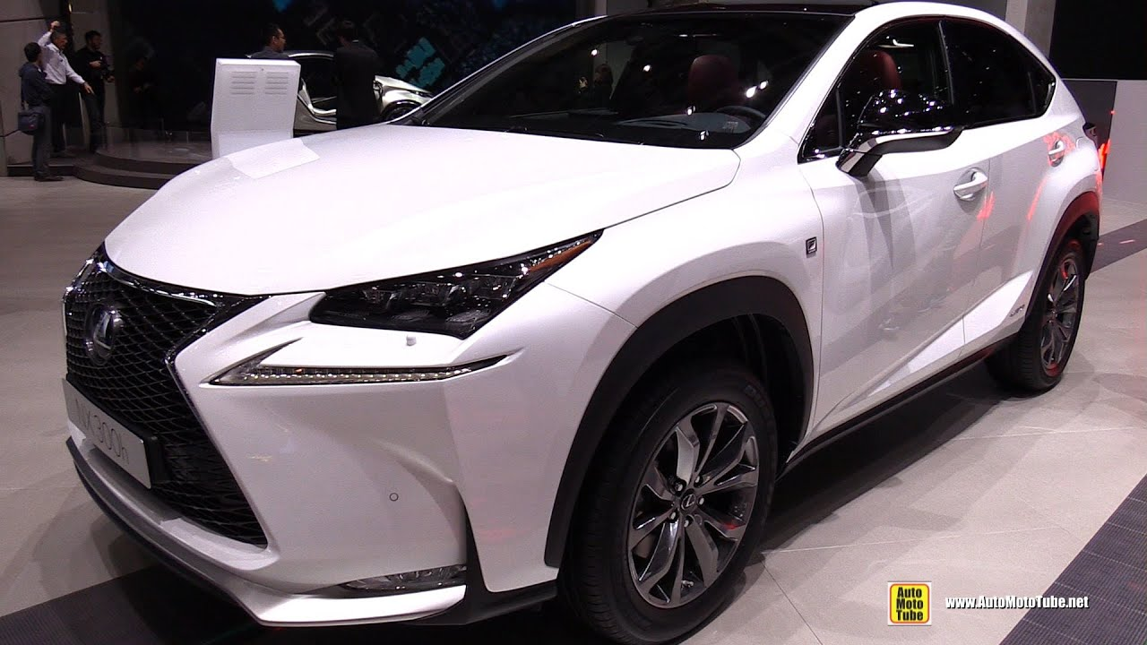 2015 Lexus NX300h F-Sport - Exterior and Interior ...