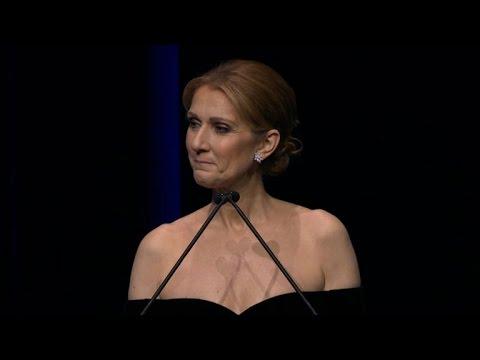 Watch Celine Dion's Beautiful Speech at Rene Angelil's Memorial Service