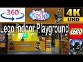 360 video   GIANT LEGO World's biggest indoor playground