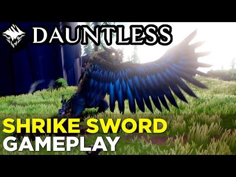 DAUNTLESS Shrike Sword Gameplay: Hunting the Shrike