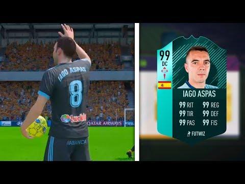 Sigue siendo DIOS Iago Aspas en FIFA 18?!?!