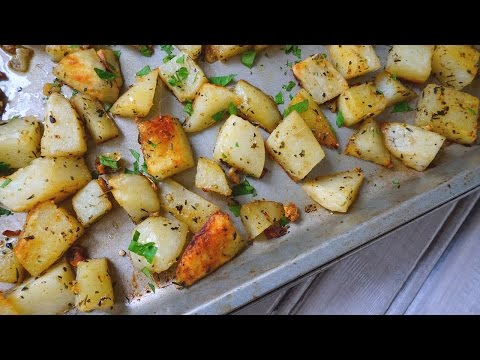 Garlic & Herb Roasted Potatoes | Easy Side Dish | Episode 107