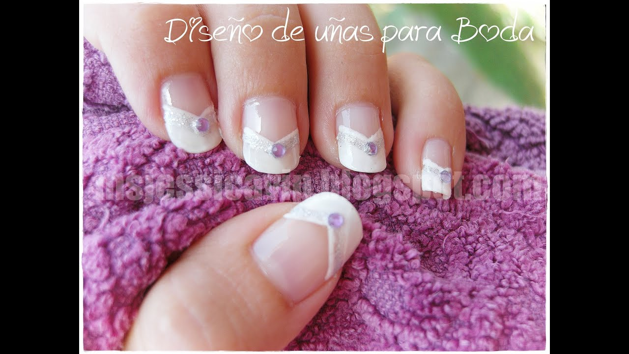 Dise o de u as para boda para u as largas youtube for Disenos de unas 2012