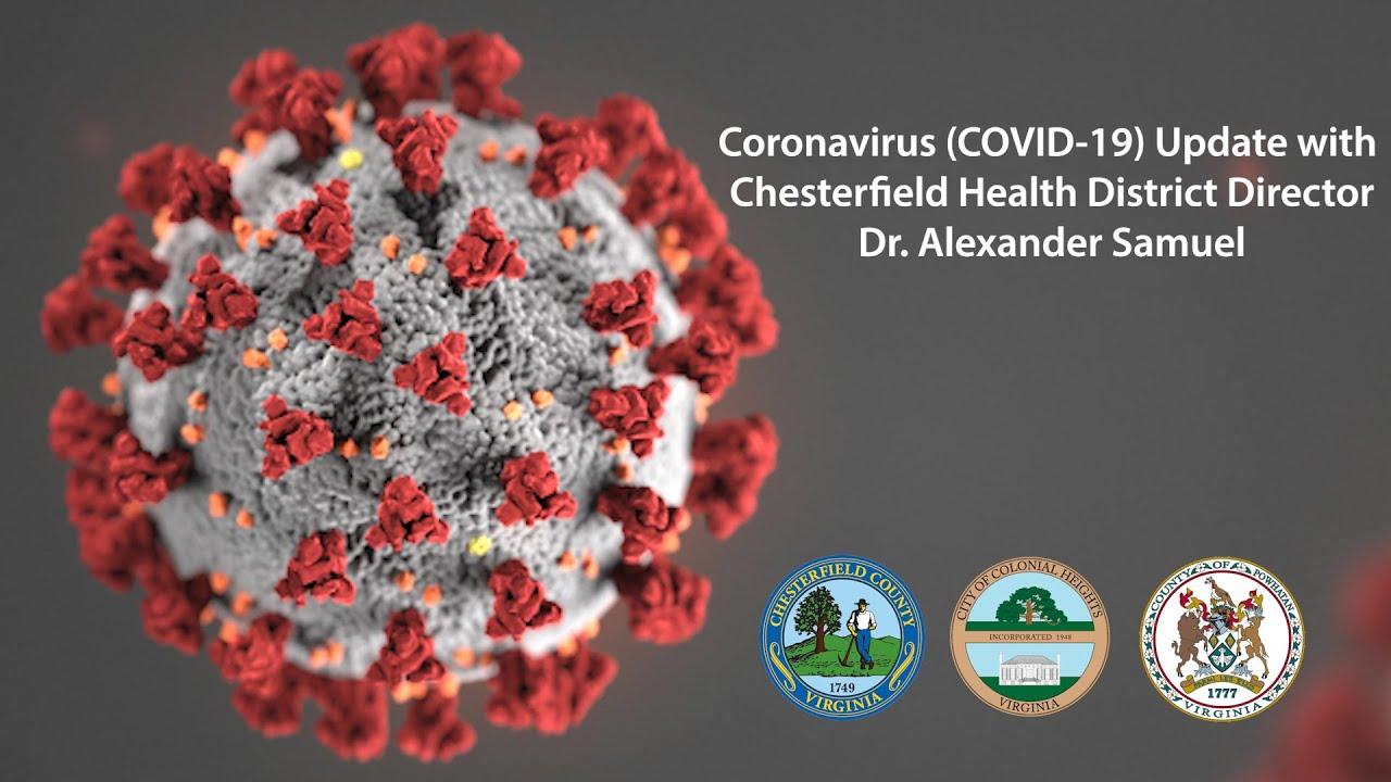 Verwonderlijk CORONAVIRUS INFORMATION | Chesterfield County Public Schools OF-83