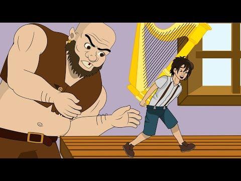 Джек и бобовый стебель смотреть мультфильм онлайн