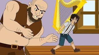 Джек и бобовый стебель сказка для детей, анимация и мультик