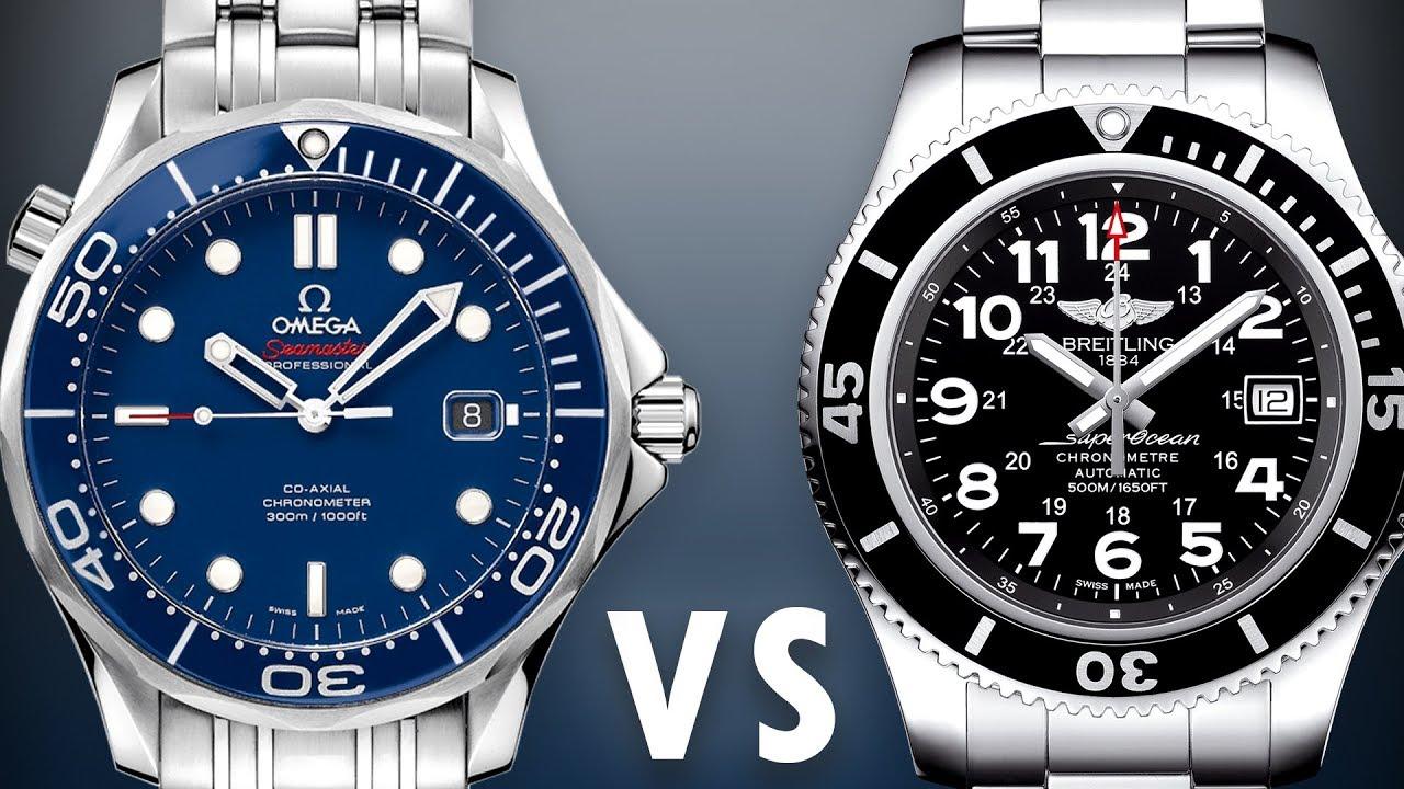 Omega Seamaster vs Breitling SuperO...