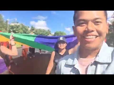 Guam's first PRIDE March celebrates diversity, uniqueness & love!