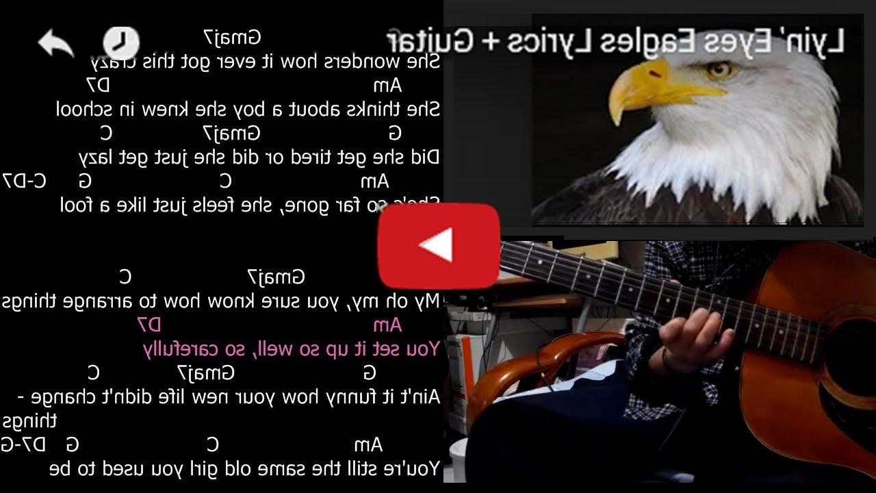 Lyin eyes guitar karaoke youtube lyin eyes guitar karaoke hexwebz Choice Image