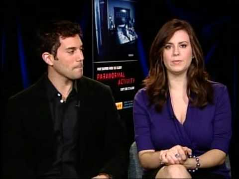 """""""Paranormal Activity"""" Interview with Micah and Katie"""