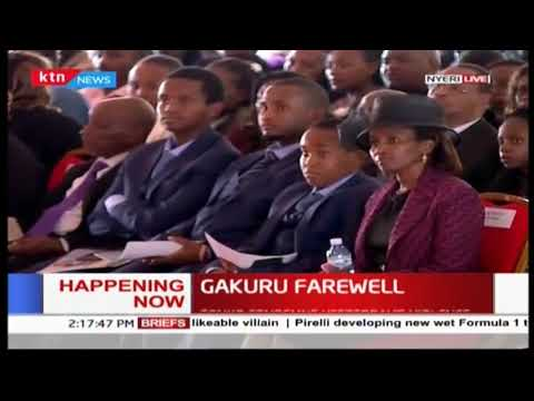 President Uhuru Kenyatta:Wahome was a true patriot of this country