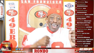 Live! Ronbo Sports In Yo Face At Yo Place Watching Super Bowl 51 Falcons Vs Patriots