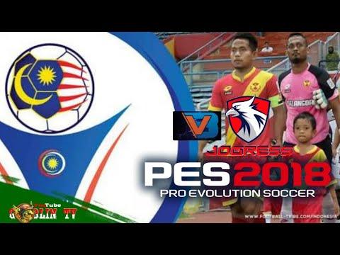 New!.. Textures&Savedata Pes2018 JOGRESSV3 mod Liga Malaysia {MSL} 2018 fix Transfers | GoblinTV