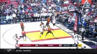 January 31, 2016 - FSS - Game 48 Miami Heat Vs Atlanta Hawks - Win (27-21)(Heat Live)