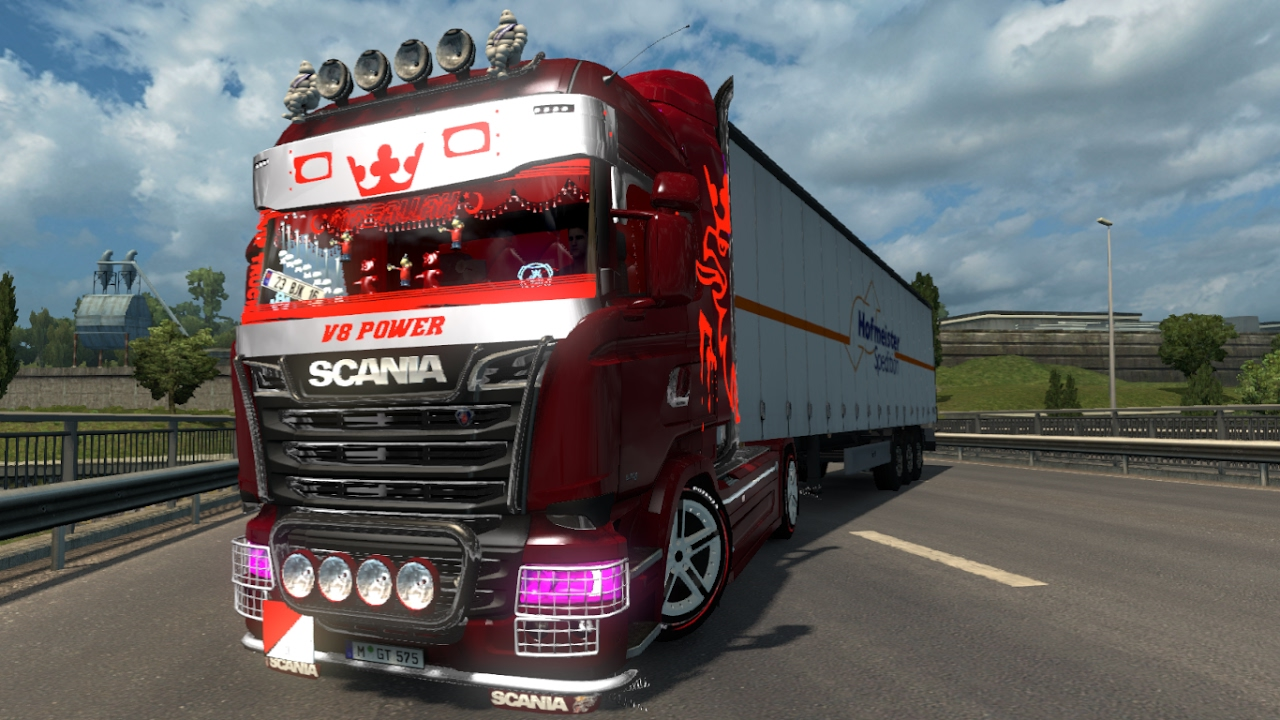 V8 illegal reworked truck v5 0 simulator games mods download - Scania R Series By Elazigli 1 26 Ets2 Euro Truck Simulator 2 Free Download