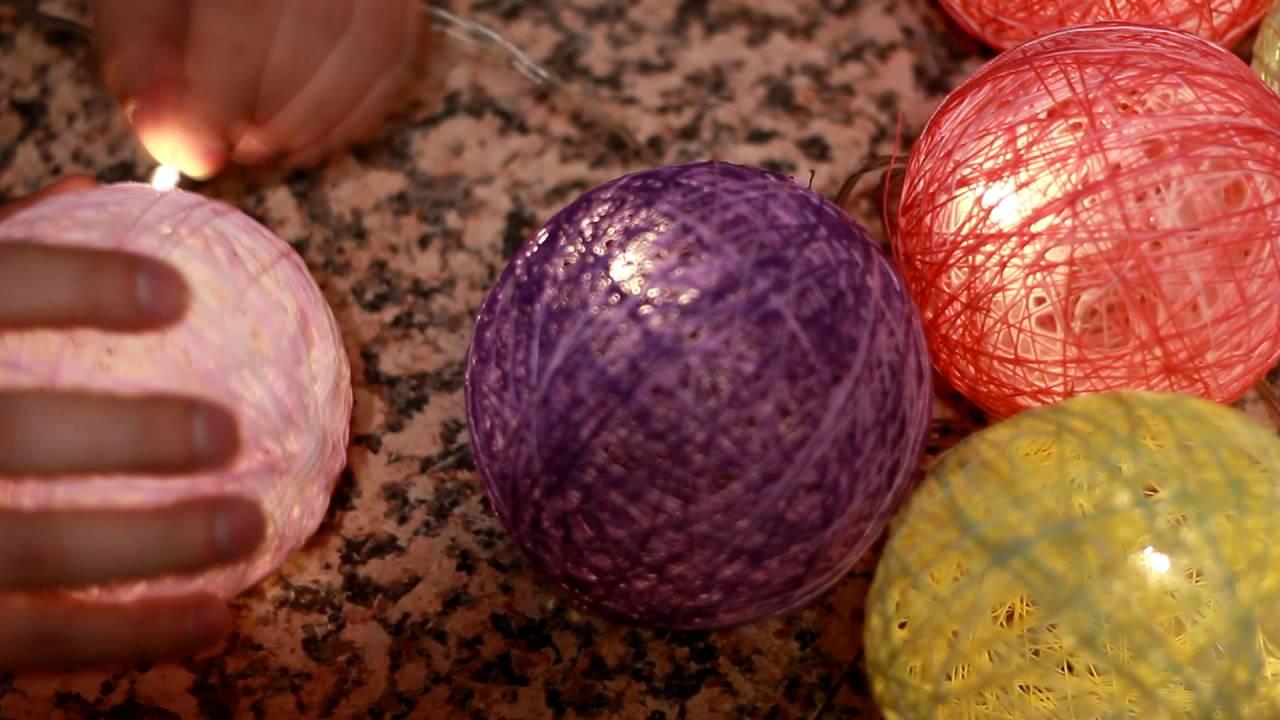 Diy Jak Zrobić Cotton Ball Lights