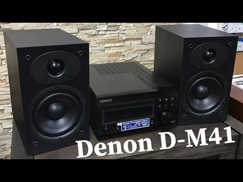Микросистема Denon D-M41 - обзор!
