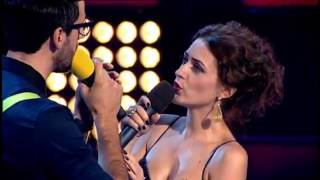 The VOICE_Romania-Ciprian Teodorescu & Magdalena Cichirdan duet 6.11.2012
