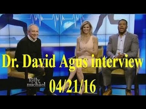 Dr. David Agus interview Live! With Kelly and Michael 04/21/16
