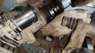 Электронный стояночный тормоз EPB. Вкручиваем тормозной цилиндр при замене задних колодок