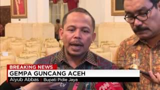 Pernyataan Bupati Pidie Jaya, Aiyub Abbas Terkait Gempa Aceh