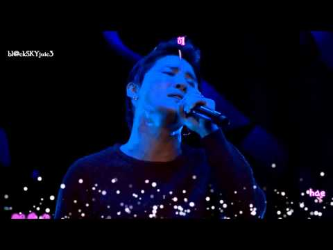 XIA Junsu - Love Is Like Snowflake LIVE [hangul / roman / eng sub]