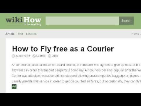 How-To Be An Air Travel Courier