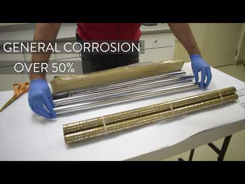 Transhield's 90-day Corrosion Test on Steel Bars Pt. 2 | 30-day reveal