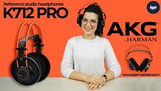 Video: CUFFIA STUDIO AKG K712 Pro