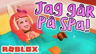 I go on Roblox Halloweenspa🎃 Swedish