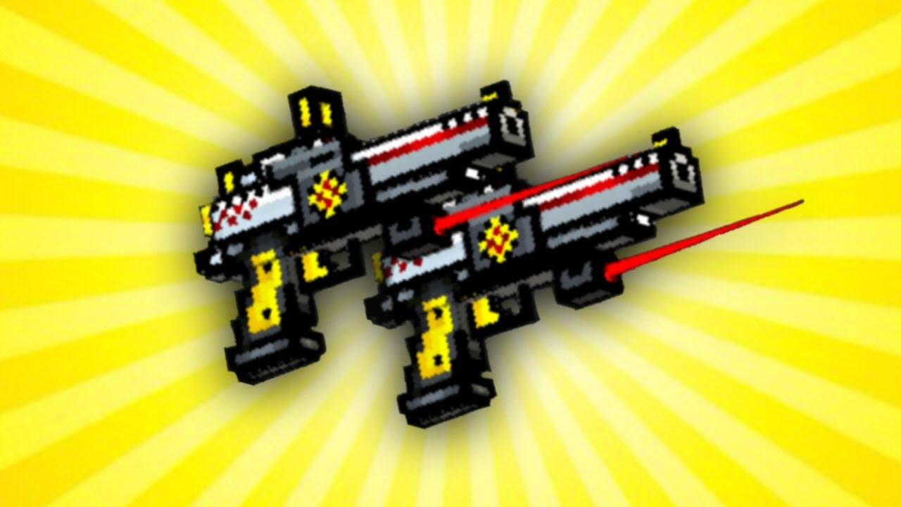 pixel gun 3d dual hawks review youtube