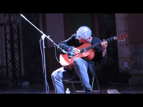 Marc Ribot - solo guitar performance (Issue Project Room, NYC 9/12/2013)