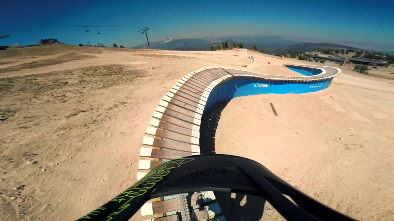 enduro ride: recoil + twilight zone mammoth mountain bike park - youtube