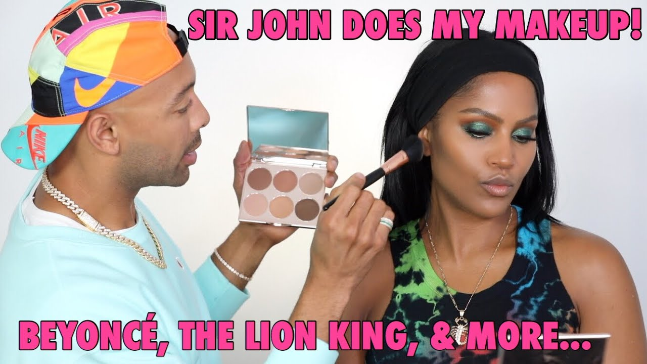 Sir John's Lion King Collection With Luminess Cosmetics - Sir John Lion King Collection Makeup Tutorials | InStyle.com