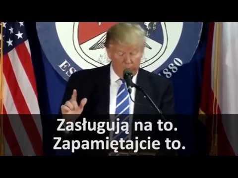 """Donald Trump o Polakach - """"Polacy to wspaniali ludzie"""""""