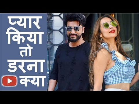 """Malaika Arora"" Khan finally Opens Up On Her Affair Rumours with Arjun"