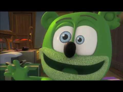 BACKWARDS Gummibär SANTA CLAUS IS COMING 2 TOWN Cover - Christmas Gummy Bear Song