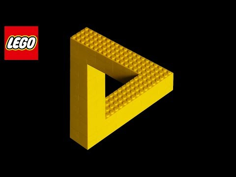 I Built The IMPOSSIBLE LEGO Triangle! (Crazy LEGO Illusions)